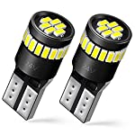 auxito-194-led-bulbs-168-175-2825-w5w-t10-24-smd-3014-chipsets-6000k-white-for-car-dome-map-door-courtesy-license-plate-lights-pack-of-2 reviews