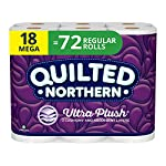 quilted-northern-ultra-plush-toilet-paper-18-mega-rolls-18-72-regular-rolls-3-ply-white-bath-tissue reviews