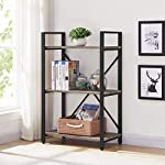 bon-augure-small-bookshelf-and-bookcase-3-tier-industrial-shelves-for-bedroom-rustic-etagere-bookcases-dark-gray-oak- picture