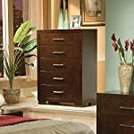 pic of jessica-5-drawer-chest-cappuccino reviews
