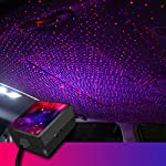 pic of auto-roof-ceiling-decoration-colourful-led-star-night-lights-projector-atmosphere-lamp-car-top-ceiling-star-lights-armrest-box-interior-ambient-atmosphere-for-car-home-party-red-blue- reviews