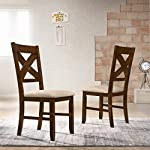 pic of roundhill-furniture-karven-solid-wood-dining-chairs-set-of-2- reviews