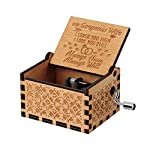 pic of you-are-my-sunshine-wood-music-boxes-laser-engraved-vintage-wooden-sunshine-musical-box-gifts-for-birthday-christmas-valentine-s-day-wood-husband-to-wife- reviews