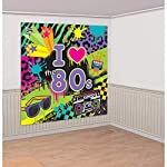 pic of 80-s-party-scene-setters-wall-decorating-kit reviews