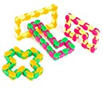 neliblu-wacky-tracks-snap-and-click-fidget-toys-for-sensory-kids-snake-puzzles-assorted-colors-pack-of-4- reviews