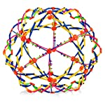 4e-s-novelty-expandable-ball-fidget-toy-great-expanding-sphere-toy-for-kids-hand-catch-breathing-flower-balls-pack-of-1-colors-may-vary-for-stress-relief-and-anxiety picture