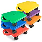 champion-sports-standard-scooter-board-with-handles-set-of-6-multi-colored reviews