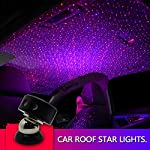 auto-roof-ceiling-decoration-colourful-led-star-night-lights-projector-atmosphere-lamp-car-top-ceiling-star-lights-armrest-box-interior-ambient-atmosphere-for-car-home-party-red-blue- reviews