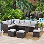 wisteria-lane-patio-furniture-set-7-pcs-outdoor-conversation-set-all-weather-wicker-sectional-sofa-couch-dining-table-chair-with-ottoman-grey reviews