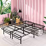 pic of zinus-shawn-14-inch-smartbase-mattress-foundation-platform-bed-frame-box-spring-replacement-quiet-noise-free-maximum-under-bed-storage-queen reviews
